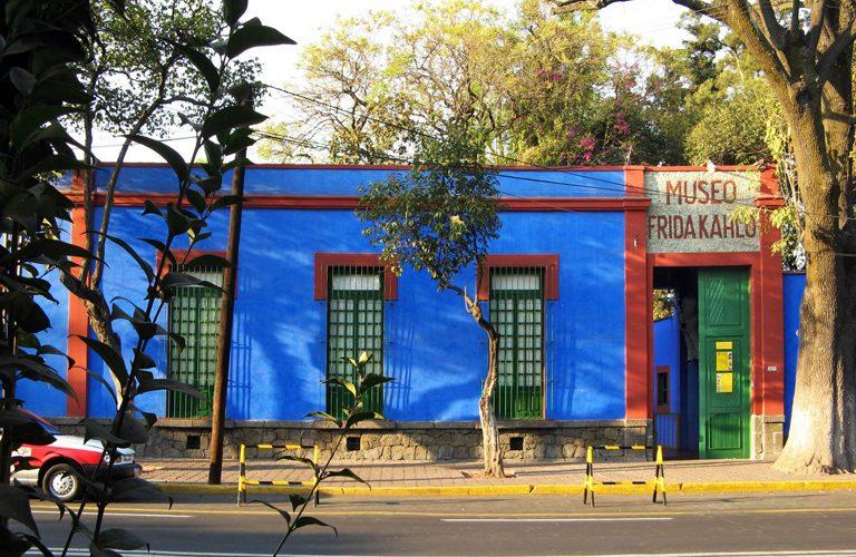 Mexiko 2 den Frida Kahlo Museum - Coyoacan