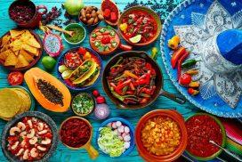 Bohaté stravování a jídlo v Mexiku