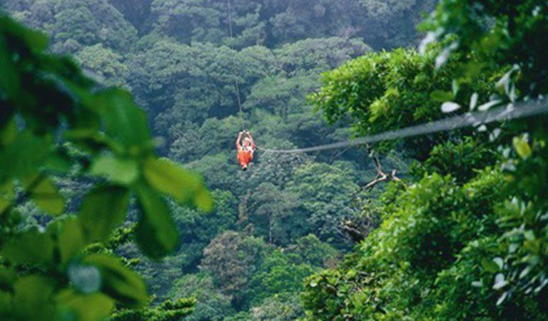 Kostarika Arenal atrakce