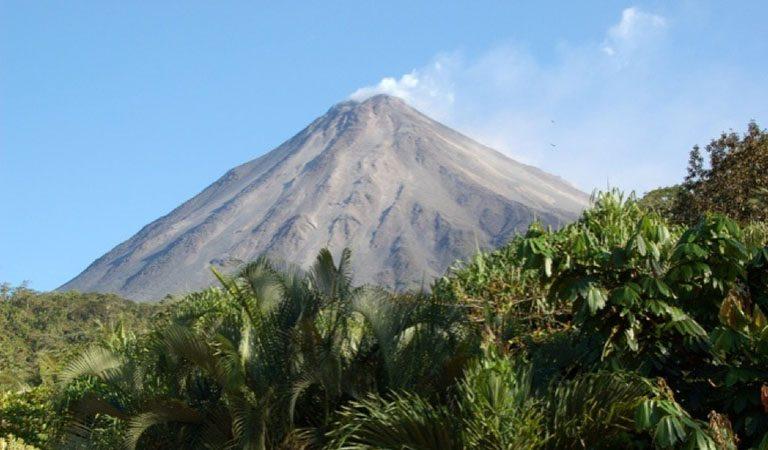 Kostarika Arenal sopka