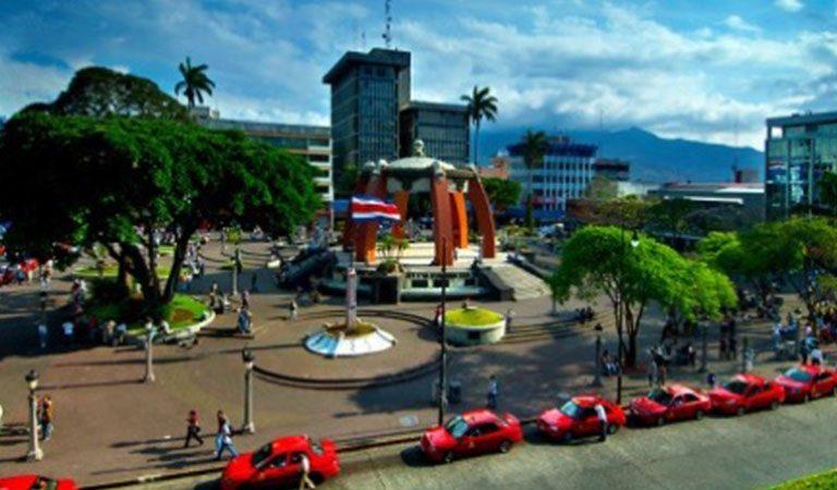 Kostarika den 1 centrum San Jose