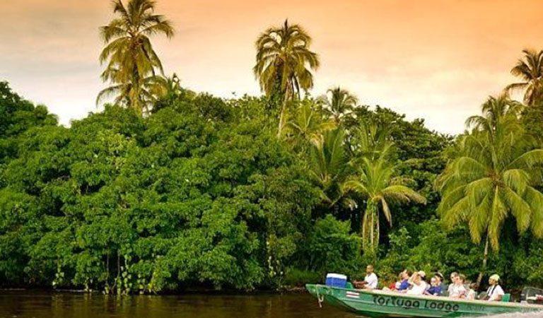 Kostarika den 2 Národní park Tortuguero