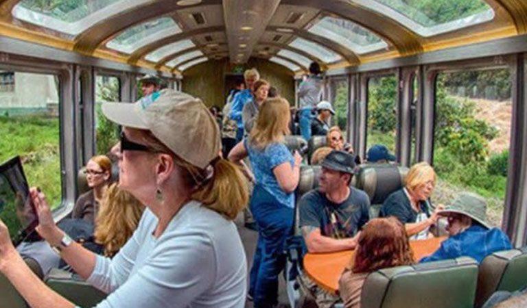 Machu Picchu Aguas Calientes vlak