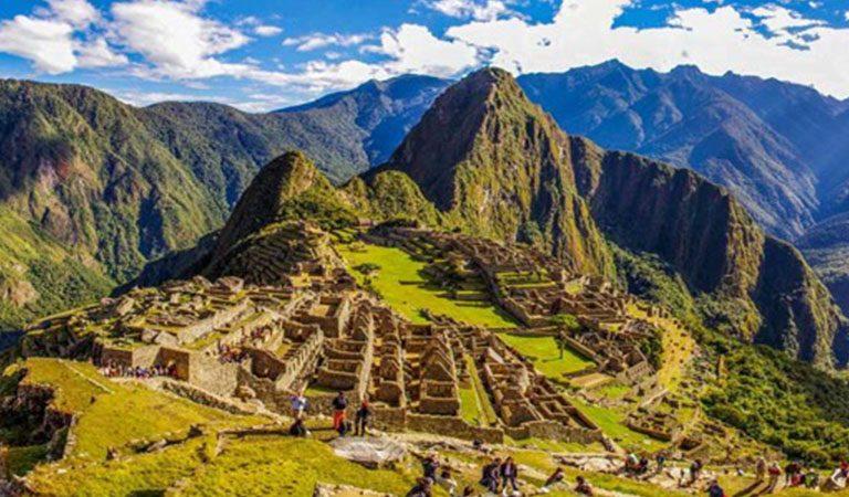 Machu Picchu pohled