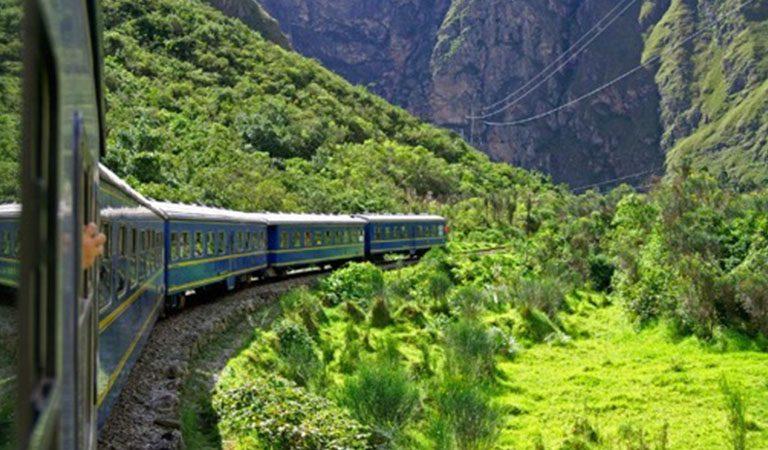 Machu Picchu vlak