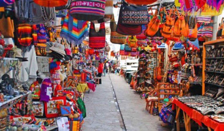 Peru Cusco trznice
