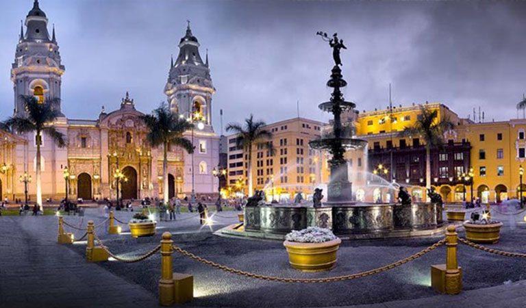 Peru Lima den 2