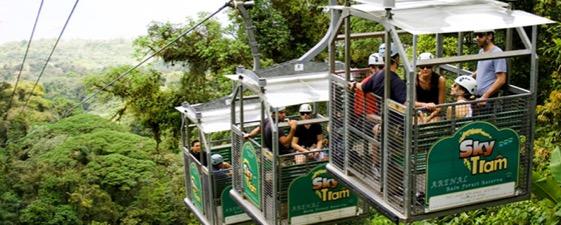 Kostarika lanovka